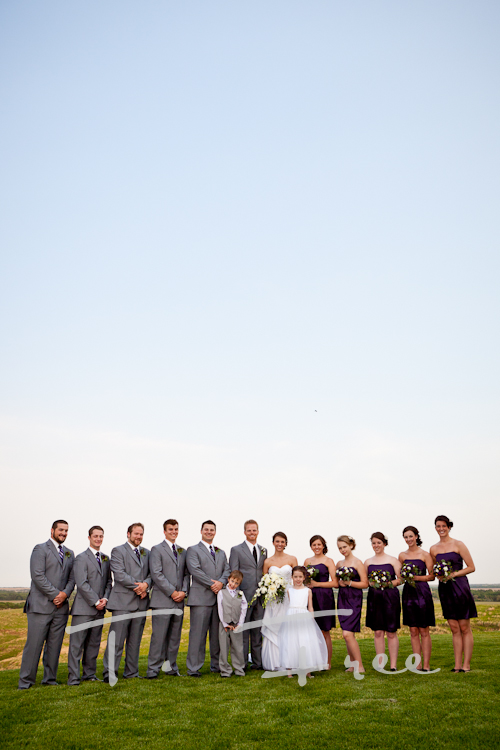Awesome wedding party picture.