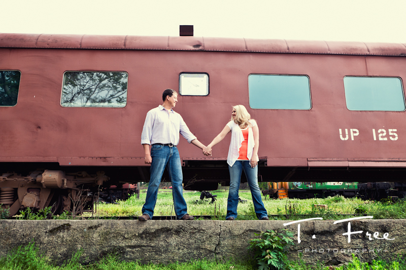 Vintage engagement photo shoot in hooper nebraska.