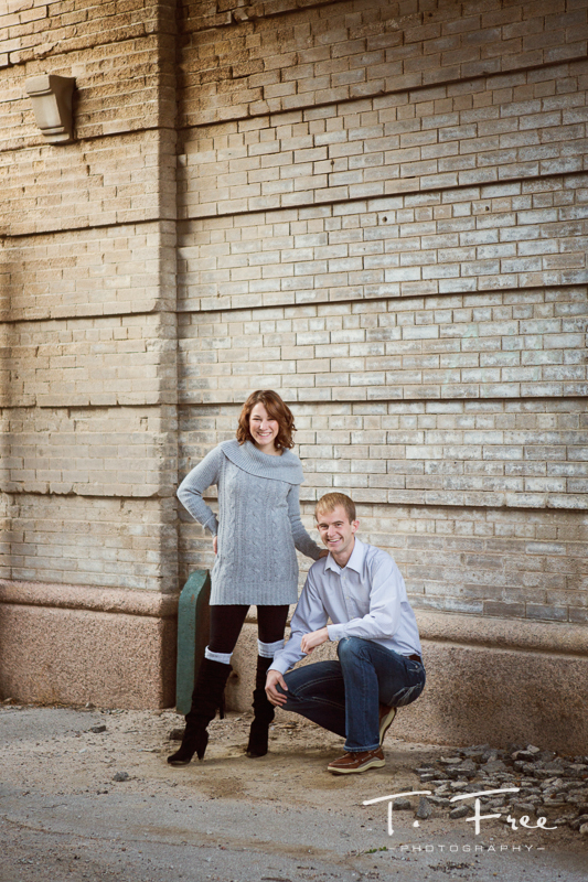 Omaha brick wall engagement.