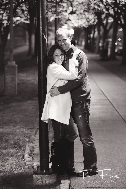 Omaha night engagement shoot.