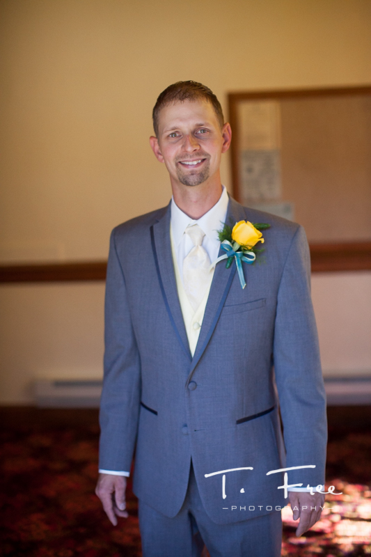 Holdrege Nebraska groom ready for his wedding day