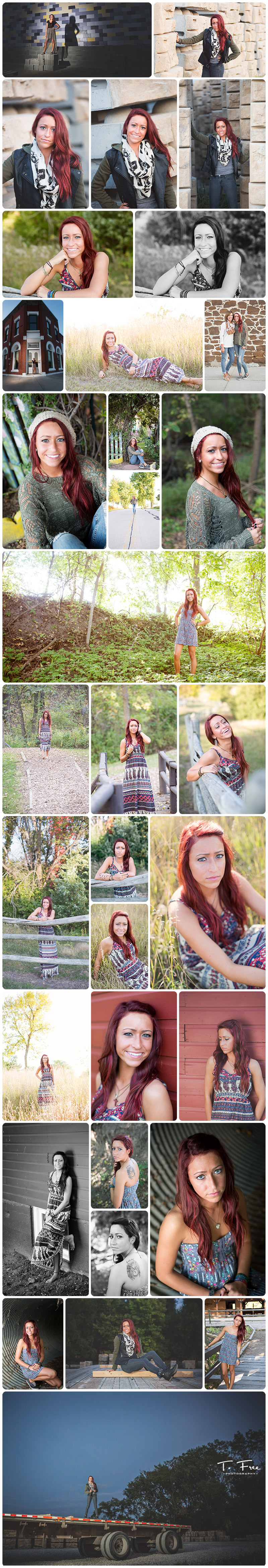 Images by millard north outdoor senior photographer.