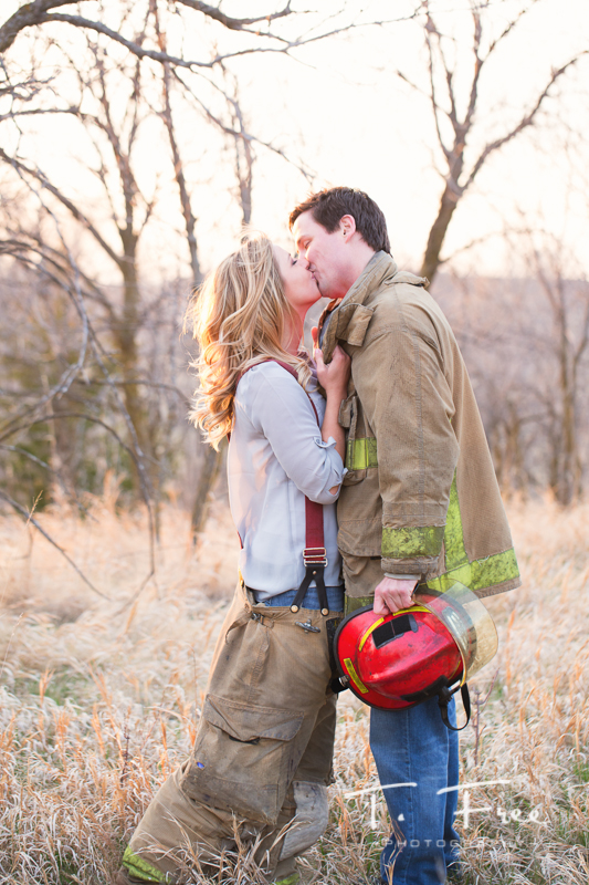 Firefighter engagement session.