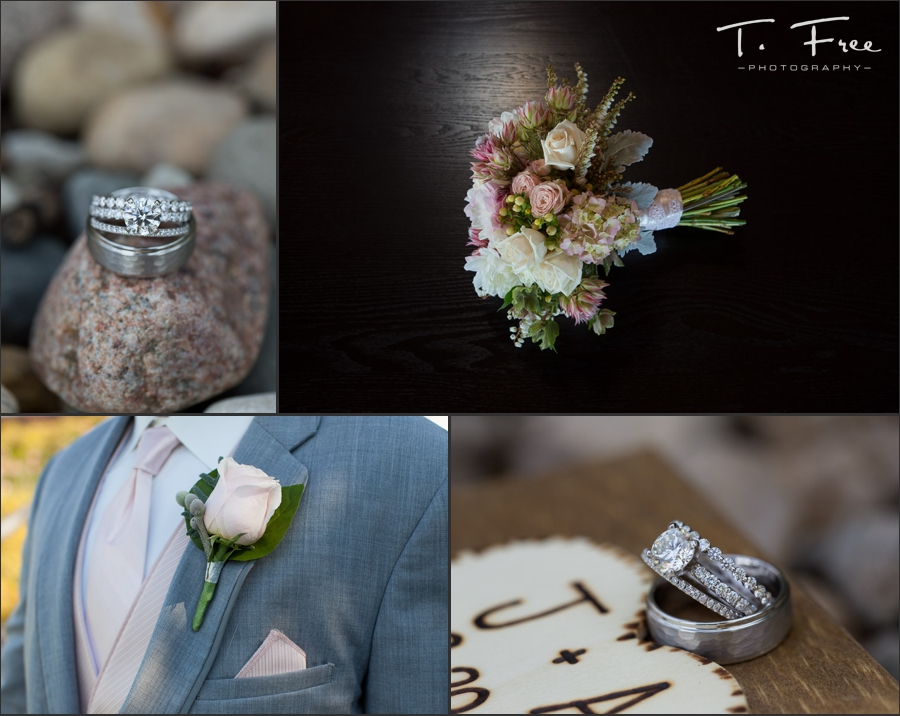 Gorgeous indian creek elkhorn wedding ring photos.