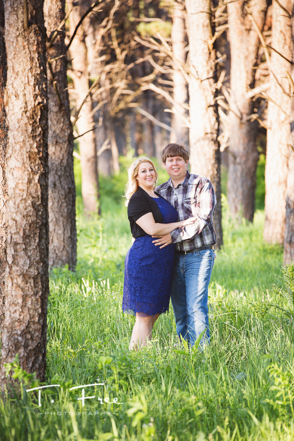 Pioneers Park Lincoln engagement session