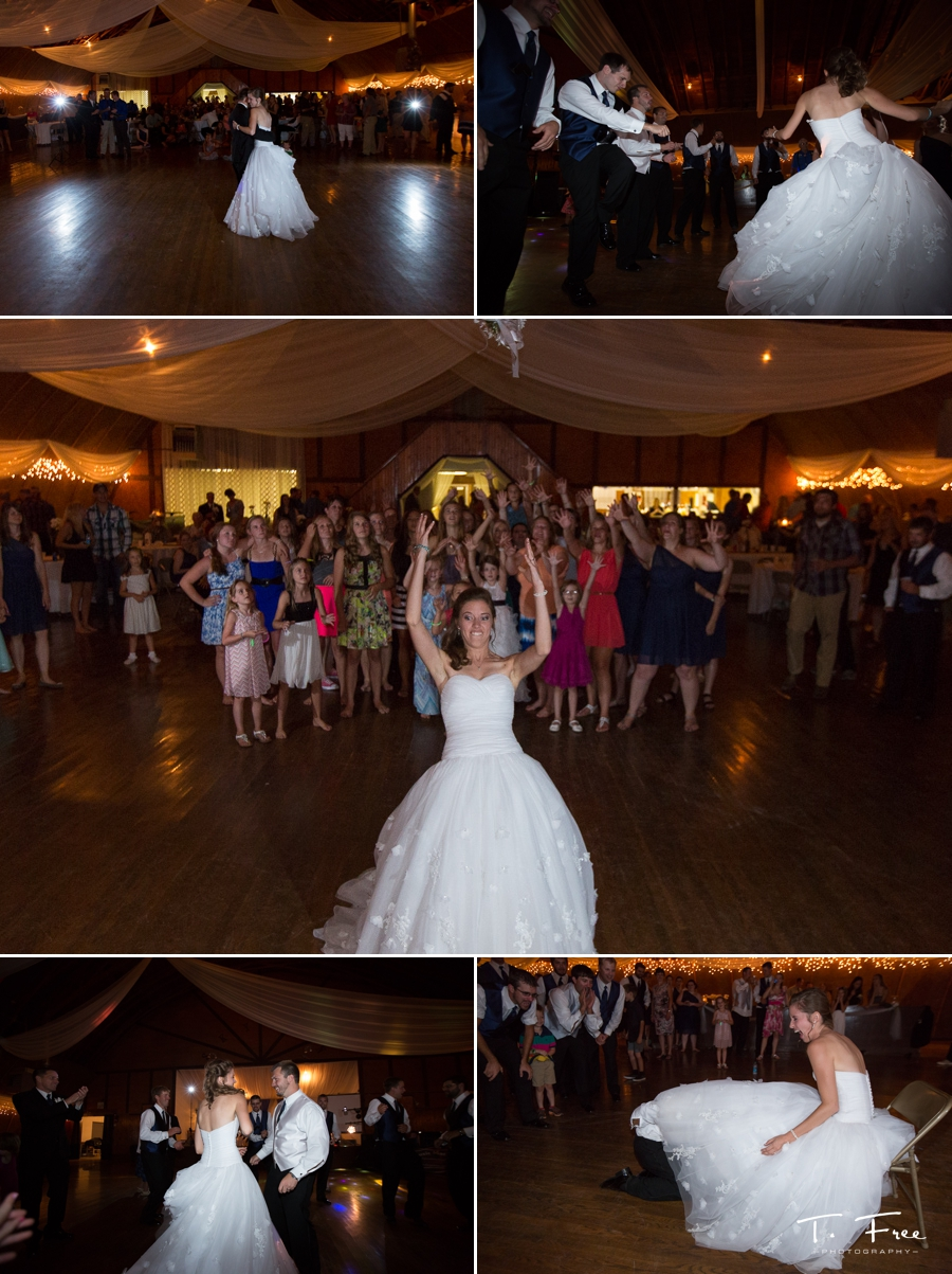 Skylon Ballroom wedding reception