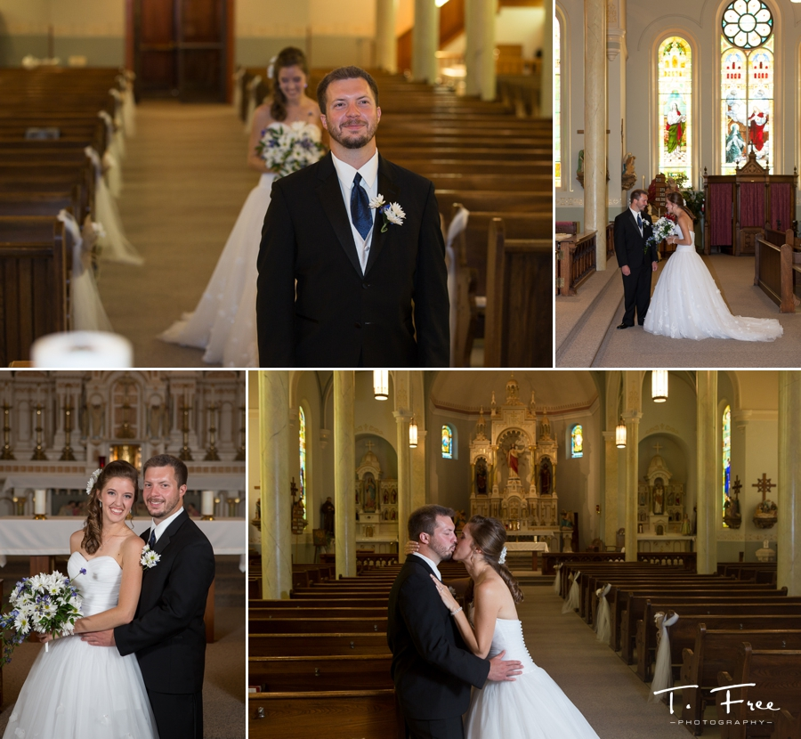 St. Peter & Paul Catholic Church wedding