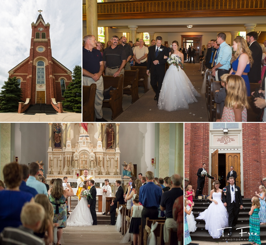 St. Peter & Paul Catholic Church wedding ceremony