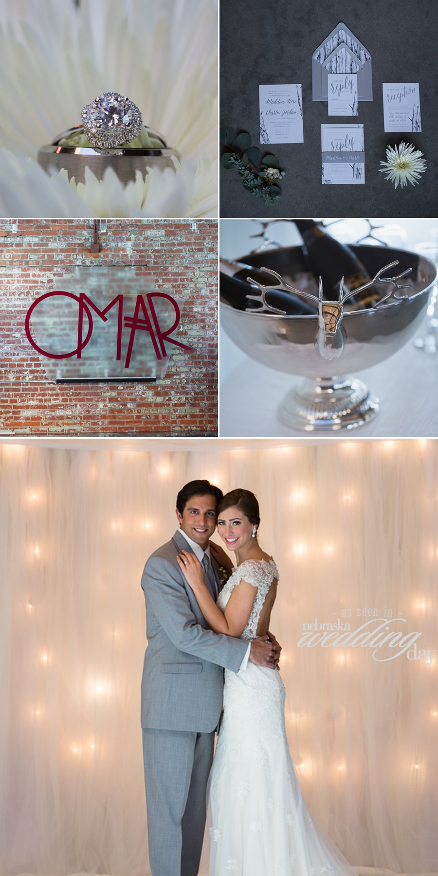 Photoshoot at the Omar building wedding reception center