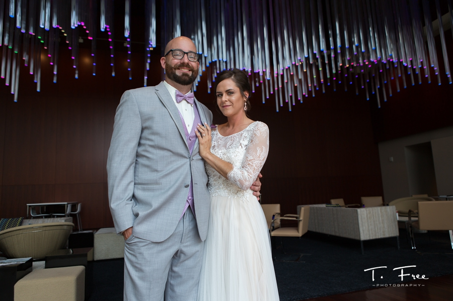 holland performing arts center wedding founders lounge