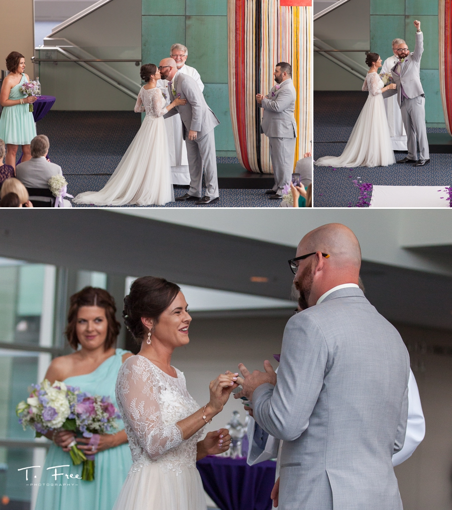 holland performing arts center wedding ceremony