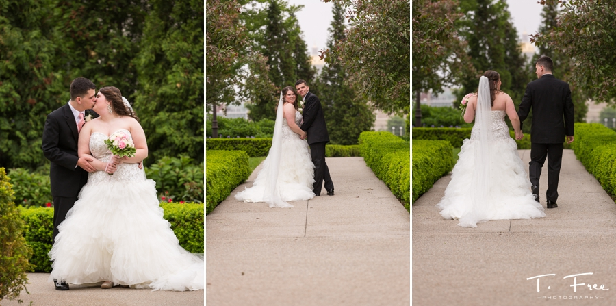 Downtown Des Moines wedding